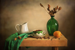 Nette Kaffee-PAUSE Stockfotografie