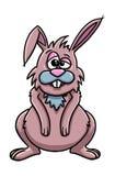 Nette Kaninchenkarikatur Stockbild