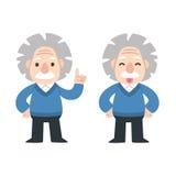 Nette Karikatur Einstein Stockfotografie