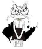 Nette Katze Stockfoto