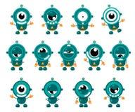Nette kleine Roboter Stockbilder