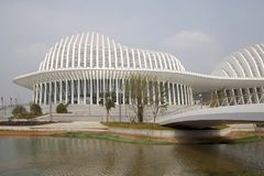 Nette Kultur und Künste Gunagxi zentrieren in Nanning China Lizenzfreies Stockfoto