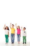 Nette lustige Kinder lizenzfreie stockfotografie