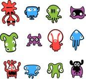 Nette Monster Lizenzfreies Stockfoto