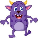 Nette Monsterkarikatur Stockbild