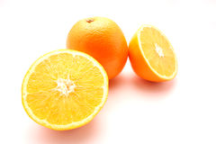 Nette Orangen Stockbild