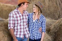 Nette Paarscheune Lizenzfreie Stockbilder