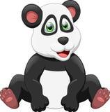 Nette Pandakarikatur Lizenzfreie Stockbilder