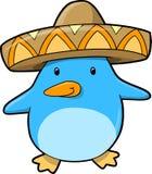 Nette Pinguin-vektorabbildung Lizenzfreies Stockfoto