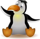 Nette Pinguinkarikatur Stockfoto