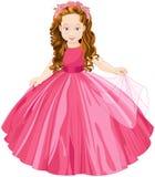 Nette Prinzessin Stockbilder