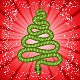 Nette Schlange (Symbol von 2013 Jahr) Lizenzfreies Stockbild