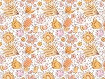 Nette Sommer-Blumen Stockfotos