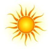 Sun-Logo Lizenzfreies Stockfoto