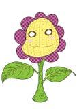 Nette Sonnenblume happy_1 Stockbilder