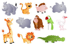 Nette Tiere Stockbild