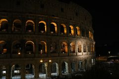 Nette viwes des historischen Monuments in Rom Stockfotografie