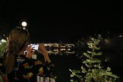 Nette viwes des historischen Monuments in Rom Stockbilder
