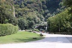 Nette viwes des historischen Monuments in Rom Lizenzfreies Stockfoto