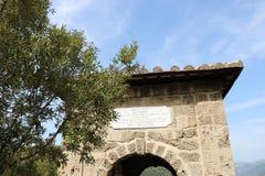 Nette viwes des historischen Monuments in Rom Stockfoto