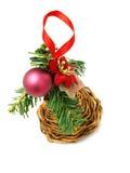 Nette Weihnachtsdekoration Stockfotografie