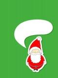 Nette Weihnachtskarte Stockbilder