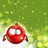 Nette Weihnachtsverzierung Stockfotografie