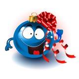Nette Weihnachtsverzierung Lizenzfreies Stockbild