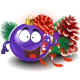 Nette Weihnachtsverzierung Lizenzfreies Stockfoto