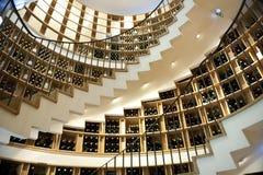Nette Weinkellerei im Bordeaux Stockfotografie