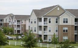 Nette Wohnungen Stockfoto