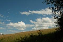 Nette Wolken Stockfoto