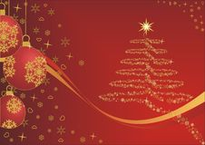 Nette Zeit der Weihnachtszeit Lizenzfreie Abbildung