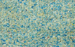 Netted Foam Chip Texture. Foam rubber carpet underlay texture Stock Images