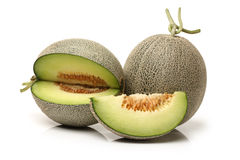 Netted melon Stock Images