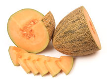Netted melon Stock Photography