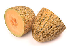Netted melon Stock Image