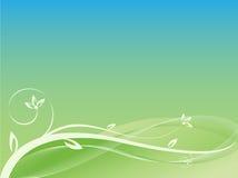 Netter abstrakter Blumenhintergrund Stockfoto