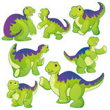 Netter Apatosaurus Lizenzfreie Stockfotos