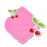 Netter Aufkleberaufkleber, Rahmen für Text Kindertag für Text Gekritzelte Notizbuchseite Vektor-Illustration Lizenzfreies Stockfoto