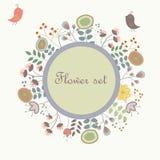 Netter Blumenhintergrund Stockfoto