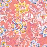 Netter Blumenhintergrund. Muster Stockbild