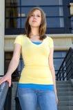 Netter Brunette Lizenzfreies Stockfoto