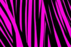 Netter Diagonalzebra-Zusammenfassungshintergrund Rosa und schwarze Illustration Art und Weiseart Streifen masern Deckblatt-Plansc stock abbildung