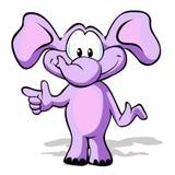 Netter Elefant Stockfoto
