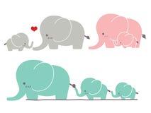 Netter Elefant Stockbild