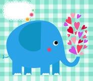 Netter Elefant Stockbilder