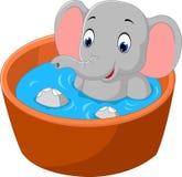 Netter Elefant Stockfotografie