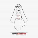 Netter Geist Halloweens Stockfotos