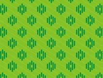 netter grüner 3 Farbstreifenhintergrund lizenzfreie stockbilder